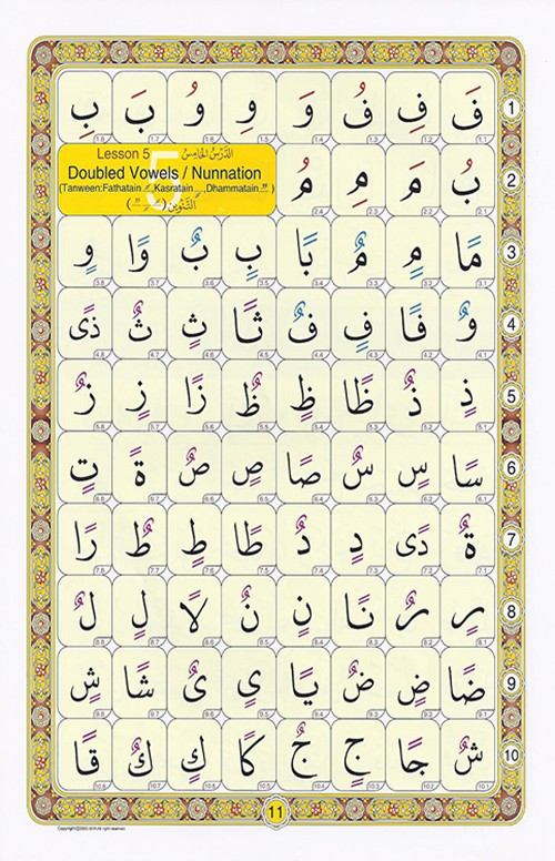 Arabic Noorani Qaida - Read & Learn Arabic Noorani Qaida Online at eQuranAcademy
