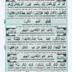 Holy Quran Para 30 Page 29