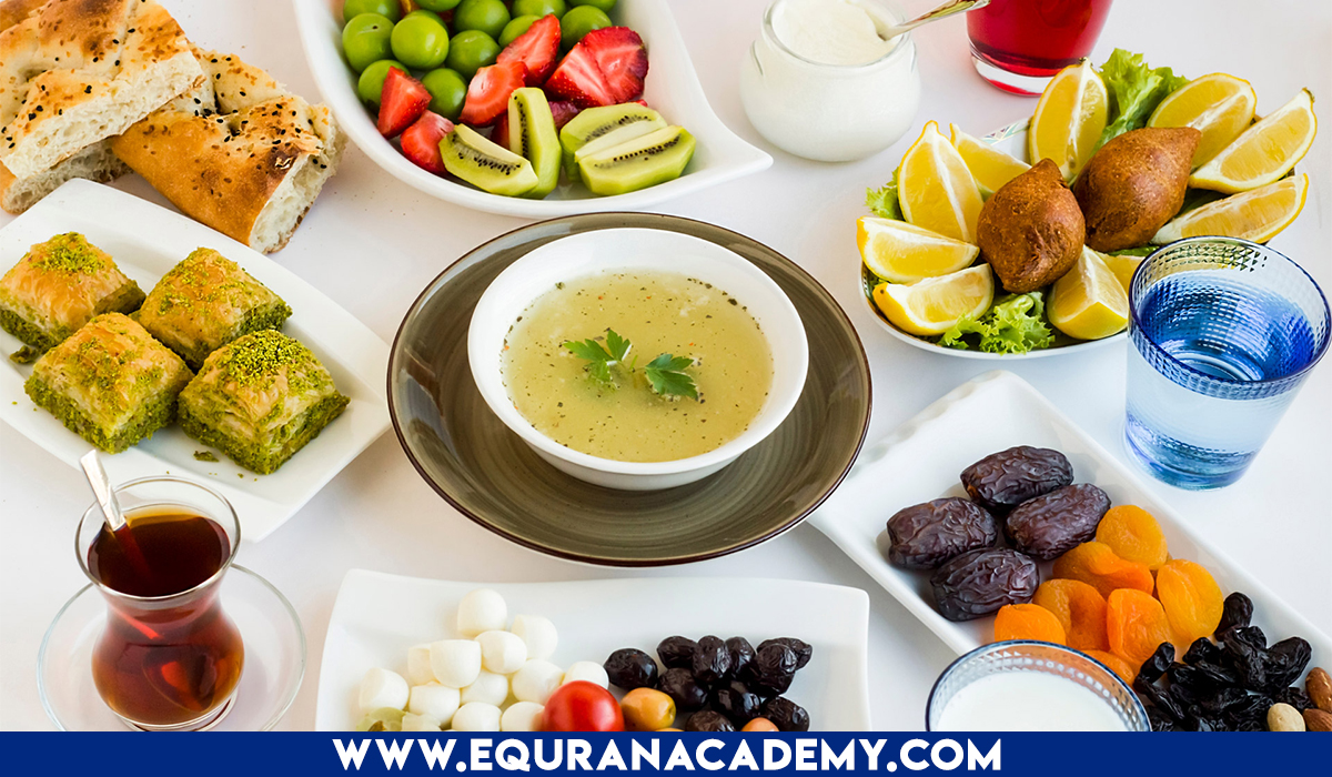 Healthy Ramadan Tips of Eating and Drinking