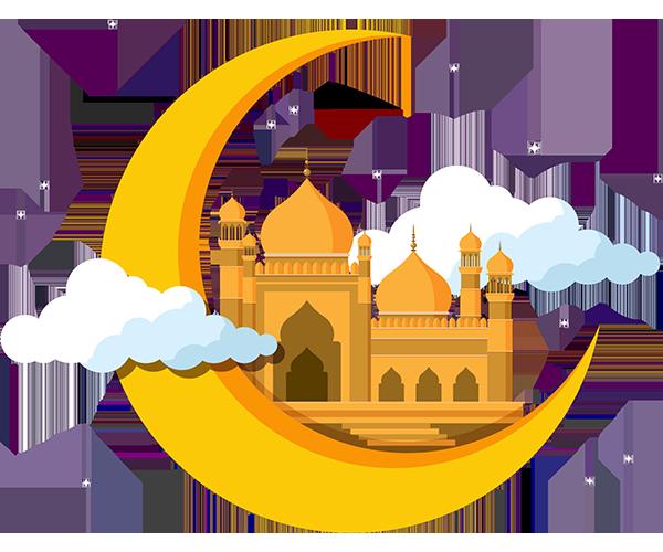 Ramadan Kareem Cresent Mosque Image